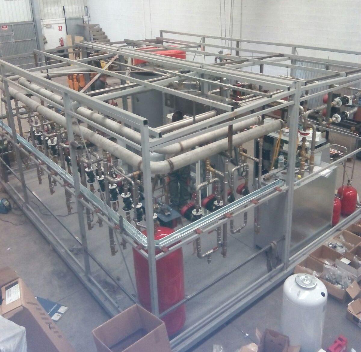 Diseño y construcción de sala de calderas de 1000 kW