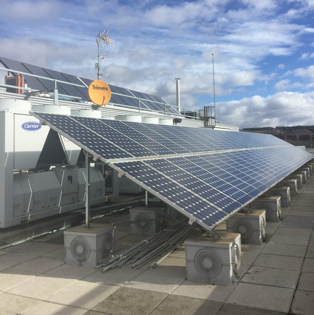 Instalación fotovoltaica en cubierta 10 kW